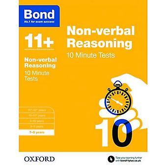Bond 11 +: Non-verbale redenering: 10 minuut Tests: 7-8 jaar