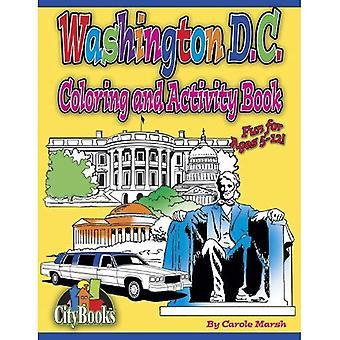 Washington DC Coloring & activiteit boek