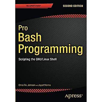 Pro Bash programmering, andra upplagan