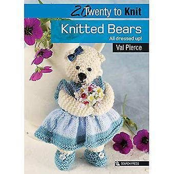 20, Fabrikat: gestrickte kleine Bären (20 Stellen)