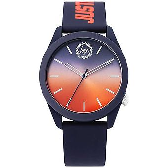Hype | Mens Blue Silicone | Two Tone Dial | HYU020UO Watch