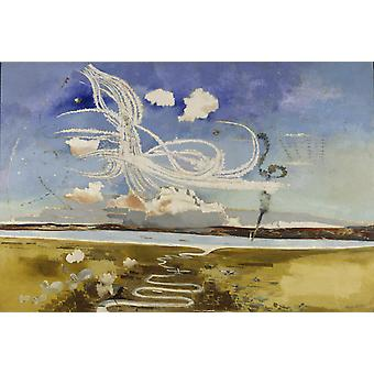 The Battle of Britain, Paul Nash, 60x40cm