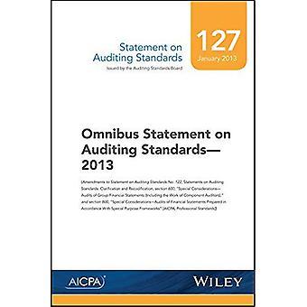 Déclaration sur l'audit, N° 127: Omnibus déclaration sur les normes d'audit