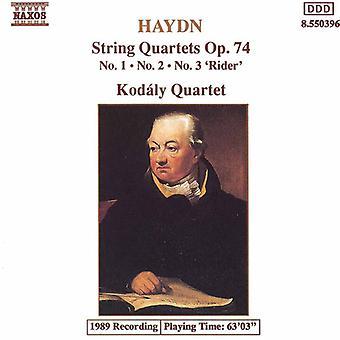 J. Haydn - Haydn: jousikvartettoa, Op. 74, nrot 1-3 [CD] USA tuonti