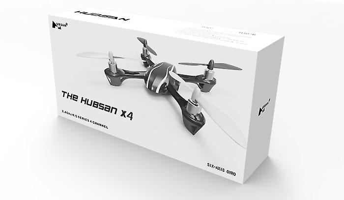 Hubsan X4 H107 Radio Controlled Quadcopter RTF 2.4Ghz