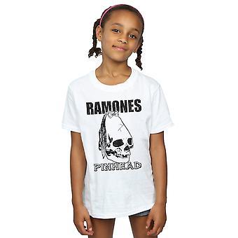 Ramones dziewczyny Pinhead czaszki T-Shirt
