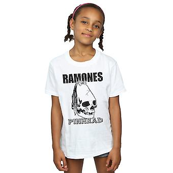 Ramones filles Pinhead crâne T-Shirt