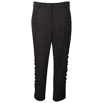 Frank Lyman Black Frill Deisign Evening Trousers