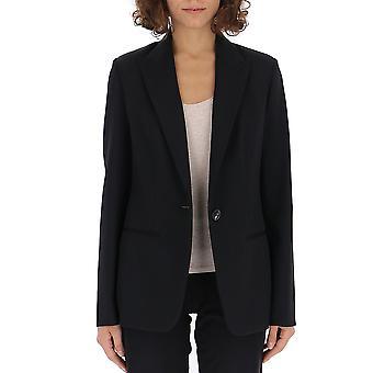 The Row 4198w1136blk Women's Black Cotton Blazer