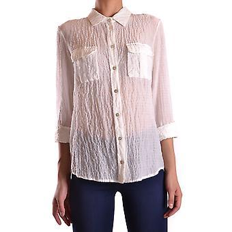 Peuterey Ezbc017008 Women's White Cotton Shirt