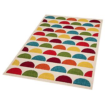 Kids play mat of colourful bubbles 120x170cm