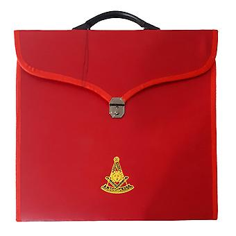 Masonic MM/WM and Provincial Full Dress Past Master Red Cases II