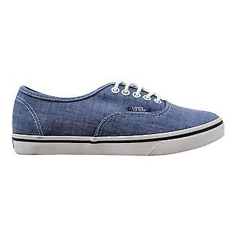 Vans Authentic Lo Pro Blue/True White Chambray VN-0T9NATX Men's