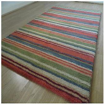 Teppiche - Handwebstuhl Multi Stripe - Spangle