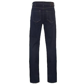 Herzog Mens Cedric King-size Tapered Fit Stretch-Jeans