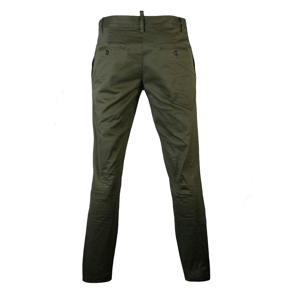 Dsquared2 Trousers Green