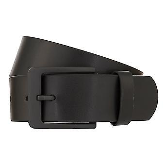MONTI ATLANTA Cinturón Hombres Cinturón de Cuero Negro 8032