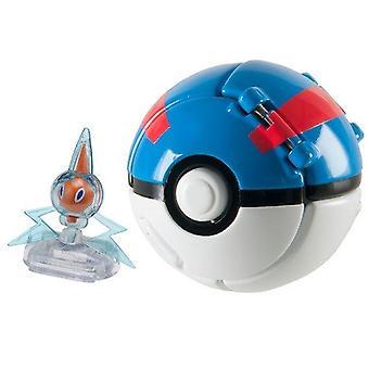 Pokemon Throw 'n' Pop Great Ball - Rotom