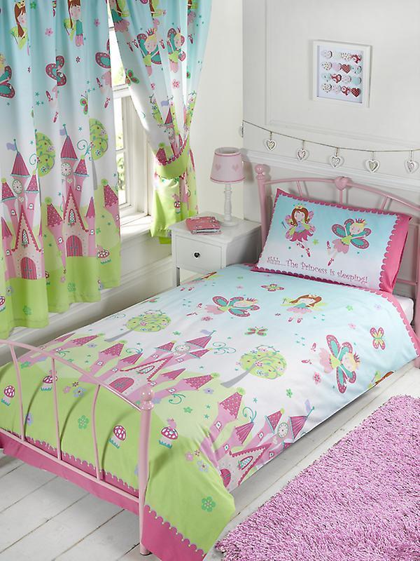 Princess is Sleeping Duvet Cover and Pillowcase Set