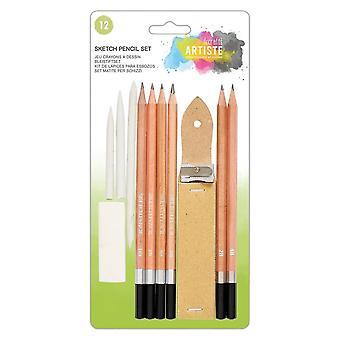 DoCrafts Artiste Sketch Pencil Set