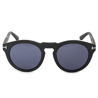 Tom Ford Carter-02 FT0627 02V 50 Round Folding Sunglasses