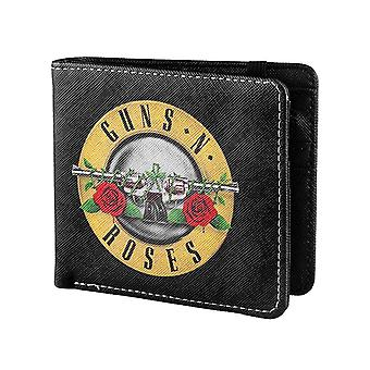 Guns N Roses Wallet Classic Pistols Band Logo nouveau biplie noir officiel