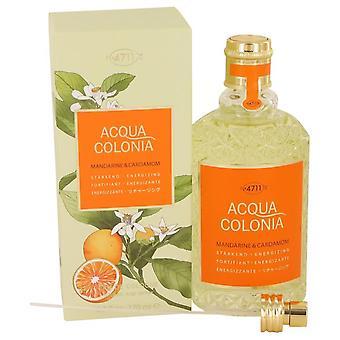 4711 acqua colonia mandarine & kardemomme eau de cologne spray (unisex) af maurer & wirtz 536096 169 ml