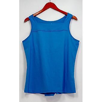 Anybody Sleepshirt Move Stretch Jersey Tank Top Shelf Blue A306092