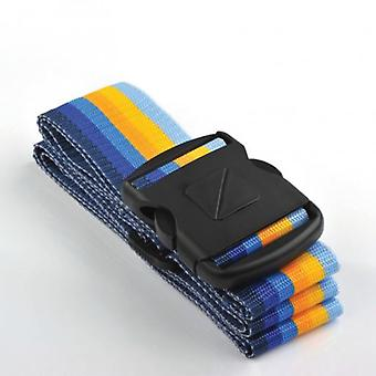 Travel Blue Strap fastenings suitcase. (Babies and Children , Toys , School Zone)