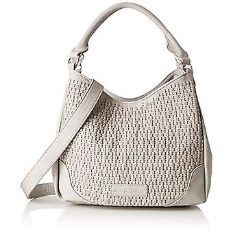 Fritzi aus Preussen Cella - Women's Grey Shoulder Bags (Metal) 14x29x32 cm (B x H T)