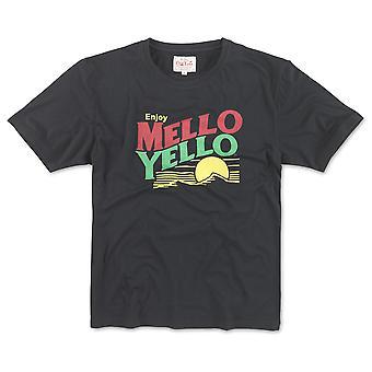 Mello Yello Men-apos;s Black Logo T-Shirt