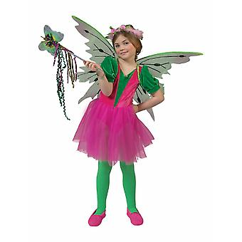 Fee Blumenmädchen Mädchenkostüm Prinzessin Schmetterling Elfe Mädchenkostüm