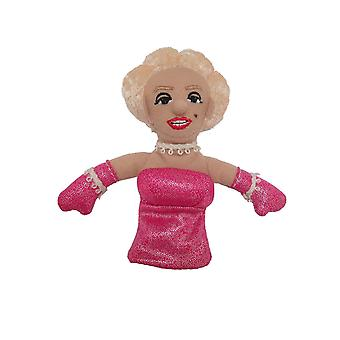 Finger Puppet - UPG - Monroe Soft Doll Toys Gifts Licensed New 2187