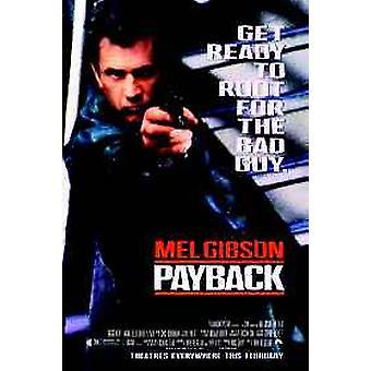 Payback original Cinema affisch