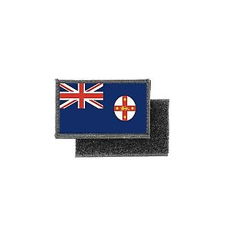 Patch ecusson prints australian flag badge new south wales