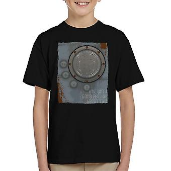 The Crystal Maze Lighter Good Feeling Rust Panel Kid's T-Shirt
