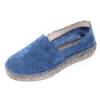 Andre Assous Women's Caroline in Blue Suede - Size 7 M
