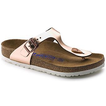 Birkenstock Gizeh SL SF Sandal 1005049 Metallic Copper NARROW