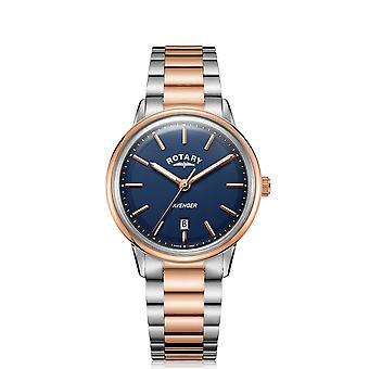 Rotary GB05342-05 Two Tone Avenger Wristwatch