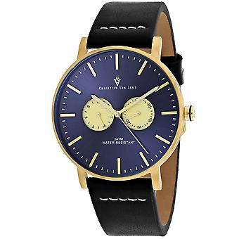 Christian Van Sant Men's Relic Blue Dial Uhr - CV0540