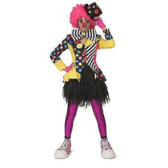 Clown jacka clown Women ' s Jacket kostym kvinnors karneval cirkus karneval kvinnors kostym