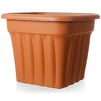 Wham Storage 49cm Vista Gran Plantadora de Plástico Cuadrado