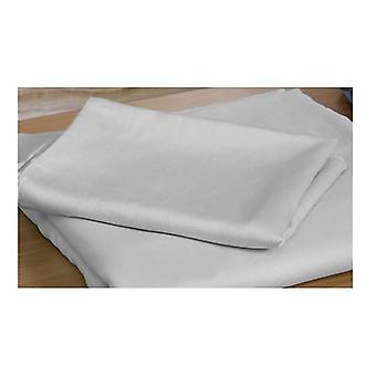 Dreamz 400Tc 4Pcs Natural Bamboo Cotton Bed Sheet Set Double Grey
