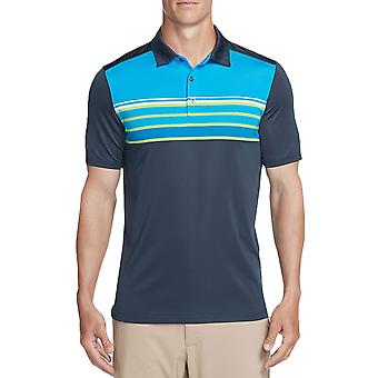 Skechers Golf Mens Backspin Stripe DNA Dry Stretch Performance Polo Shirt