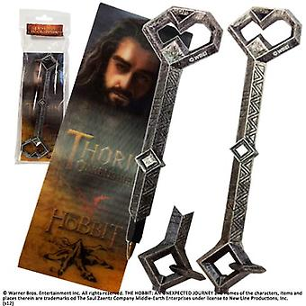 Thorin Oakenshield Key Pen and Bookmark Set from The Hobbit An Unexpected Journey