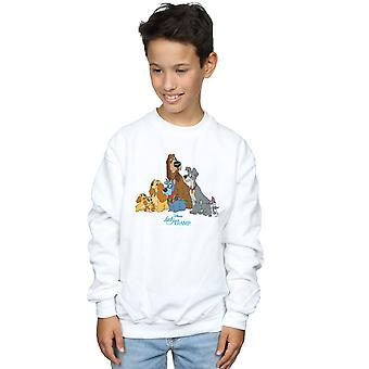 Disney Boys Lady And The Tramp Classic Group Sweatshirt