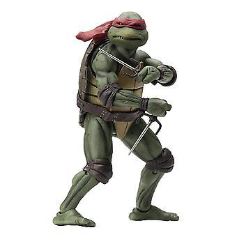 Teenage Mutant Ninja Turtles Raphael 7-asteikko materiaali: muovi, tuottaja: NECA.
