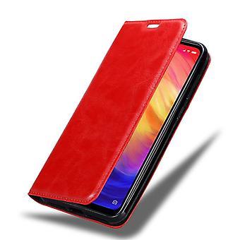 Xiaomi RedMi NOTE 7折りたたみ式電話ケース用ケース - カバー - スタンド機能とカードスロット付き