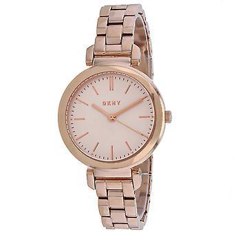 DKNY Women's Ellington Rose Gold dial watch - NY2584