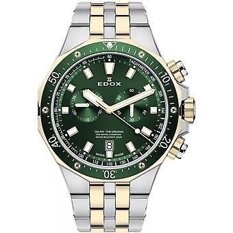 Edox Men's Watch 10109 357JVM VID Chronographs, Diver's Watch
